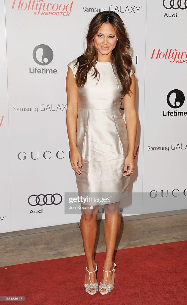 Vanessa Lachey arrives at The Hollywood Reporter's 22nd Annual Women In Entertainment Breakfast 2013 at Beverly Hills Hotel on December 11, 2013 in Beverly Hills, California.