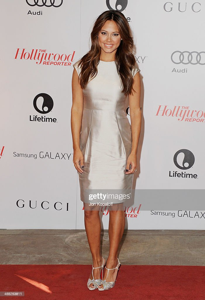 Vanessa Lachey arrives at The Hollywood Reporter's 22nd Annual Women In Entertainment Breakfast 2013 at Beverly Hills Hotel on December 11 2013 in...