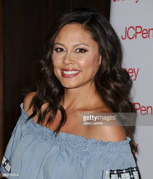 Vanessa Lachey attends JCPenney's back to school community event at Hollywood YMCA on August 3 2016 in Los Angeles California