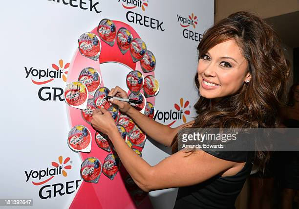 Vanessa Lachey attends Variety Women In Film PreEmmy Event presented by Yoplait Greek at Scarpetta on September 20 2013 in Beverly Hills California