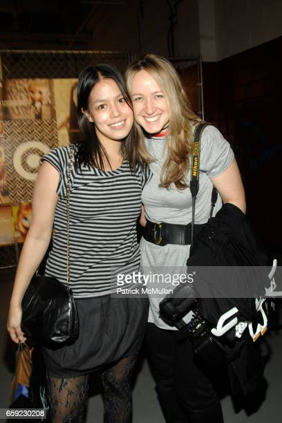 Vanessa Lawrence and Kristen Somody attend McQ Alexander McQueen for Target Debuts TARGET McQ MARKET in NYC at St John's Center on February 13 2009...