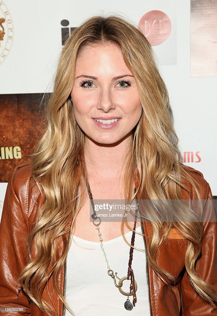 Vanessa Lee Evigan attends the Los Angeles Screening 'Guns, Girls & Gambling' held at the Laemlle NoHo 7 on December 13, 2012 in North Hollywood, California.