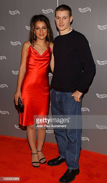 Vanessa Lengies and Will Estes during Hot Wheels Hall of Fame Induction Gala and Charity Benefit Orange Carpet at Petersen Automotive Museum in Los...