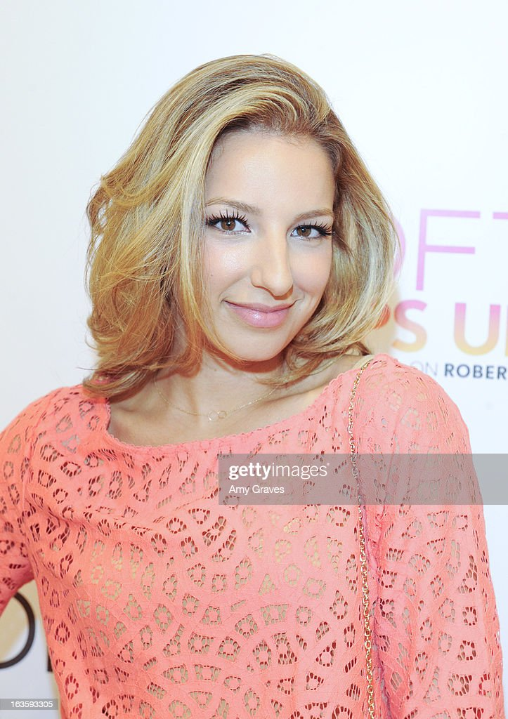 Vanessa Lengies attends the LOFT Pop-Up On Robertson event on March 12, 2013 in Los Angeles, California.
