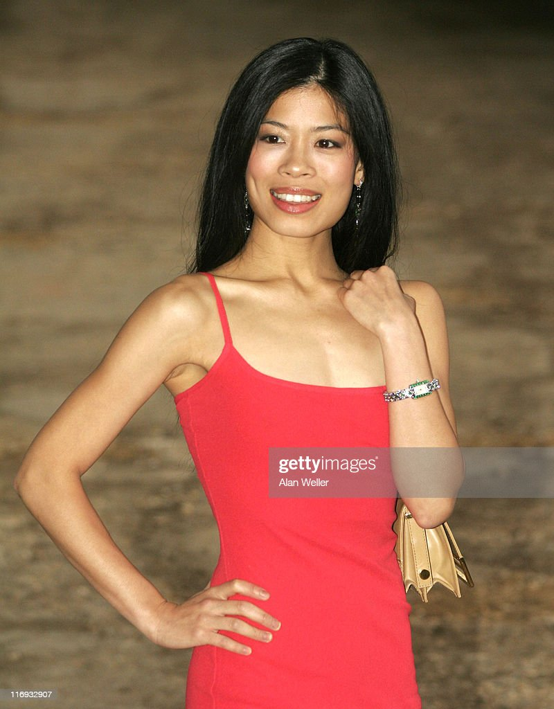 <a gi-track='captionPersonalityLinkClicked' href=/galleries/search?phrase=Vanessa+Mae&family=editorial&specificpeople=212716 ng-click='$event.stopPropagation()'>Vanessa Mae</a> during An Elephant Durbar - Outside Arrivals at Petersham House in Petersham, Great Britain.
