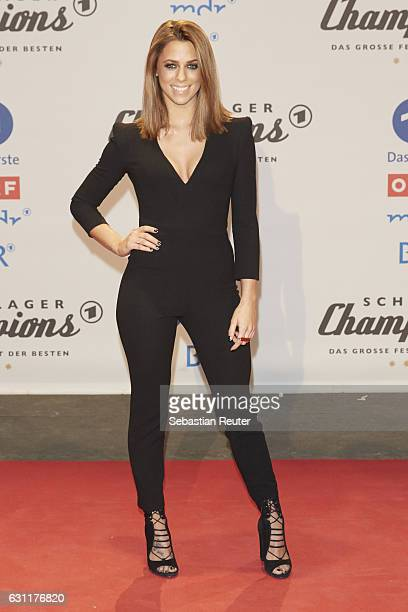 Vanessa Mai attends the 'Das grosse Fest der Besten' tv show at Velodrom on January 7 2017 in Berlin Germany