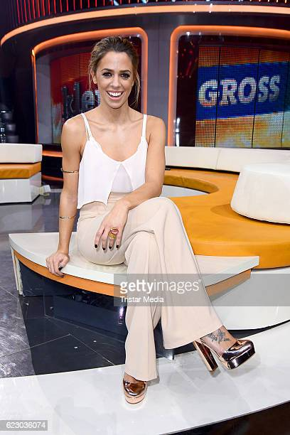 Vanessa Mai attends the 'Klein Gegen Gross Das Unglaubliche Duell' TV Recording on November 13 2016 in Berlin Germany