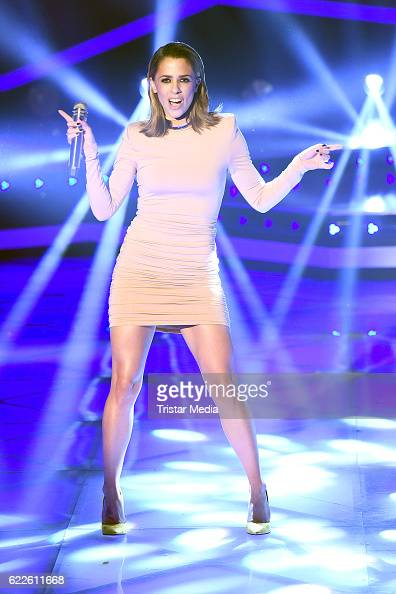 Vanessa Mai during the 'Die Schlager des Jahres' on November 11 2016 ...