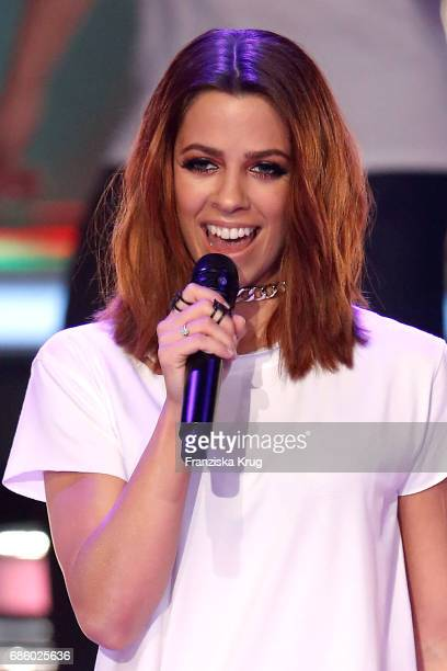 Vanessa Mai during the tv show 'Willkommen bei Carmen Nebel' at Velodrom on May 20 2017 in Berlin Germany