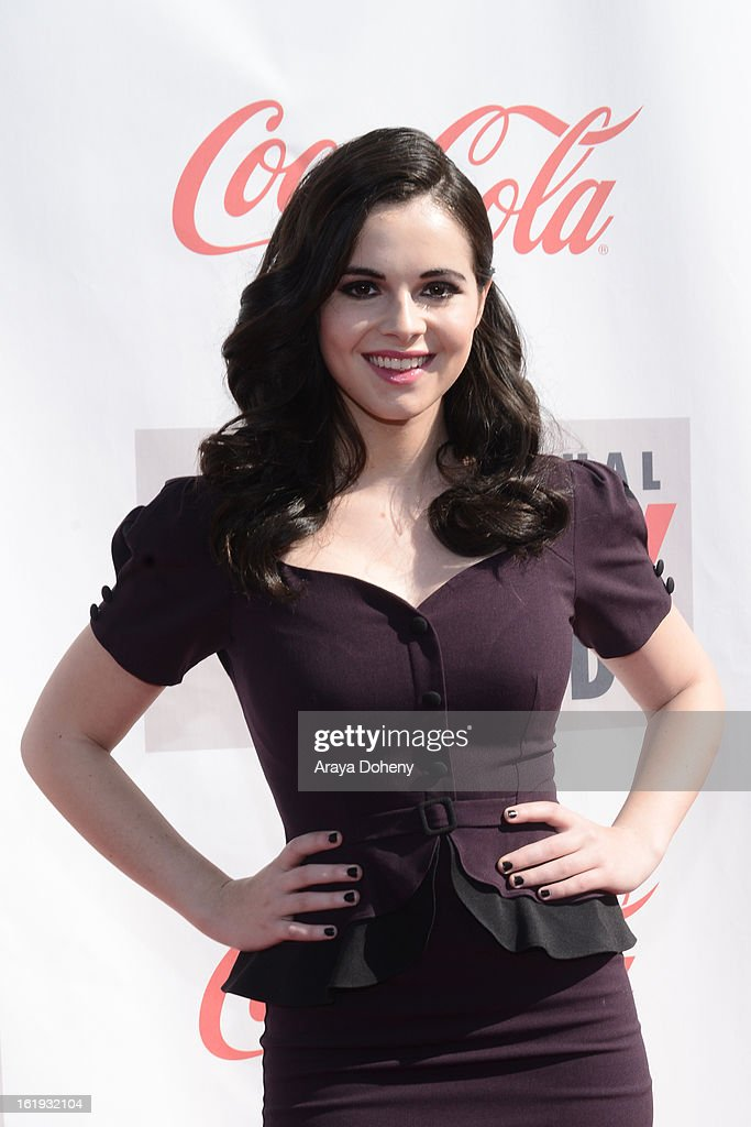 Vanessa Marano arrives at the 3rd Annual Streamy Awards at The Hollywood Palladium on February 17, 2013 in Los Angeles, California.
