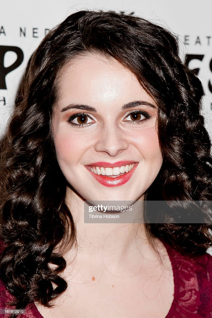 Vanessa Marano attends the 'Jekyll & Hyde' Los Angeles play opening at the Pantages Theatre on February 12, 2013 in Hollywood, California.