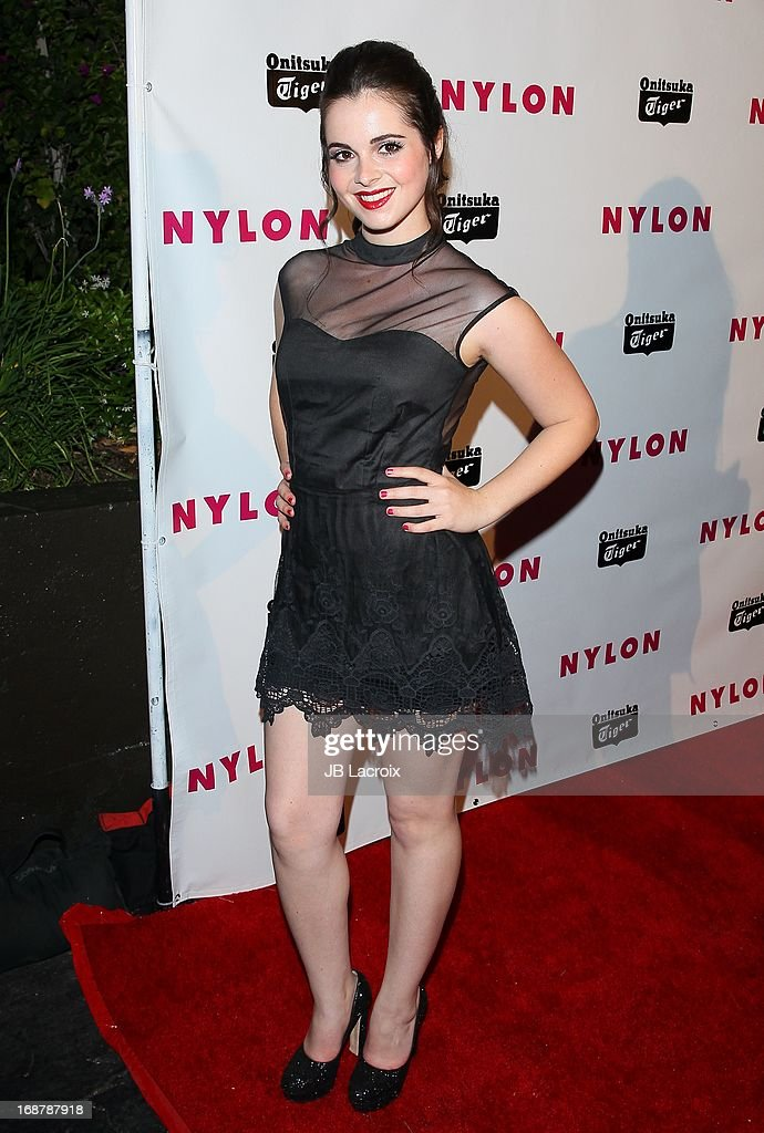 Vanessa Marano attends the NYLON Magazine Annual May Young Hollywood Issue Party at The Roosevelt Hotel on May 14, 2013 in Hollywood, California.
