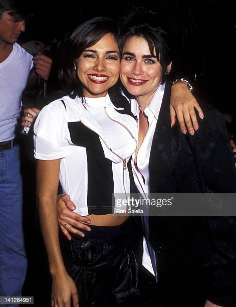 Vanessa Marcil and Rena Sofer at the 22nd Daytime Emmy Award Post Party for Cast of 'General Hospital' Roxy New York City