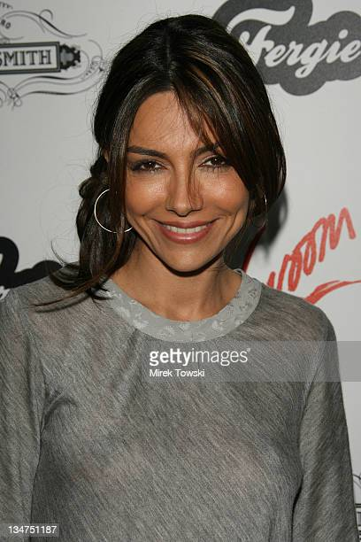 Vanessa Marcil during Fergie's Birthday Celebration at Citizen Smith in Hollywood CA United States