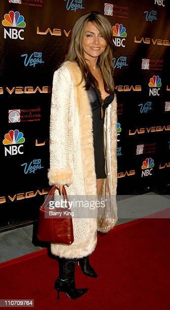 Vanessa Marcil during NBC Series Las Vegas World Premiere Event Party at The Highlands in Hollywood California United States