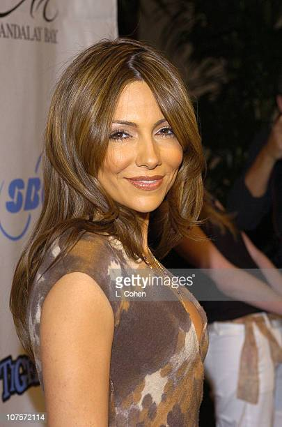 Vanessa Marcil during Tiger Jam VII Red Carpet Arrivals at Mandalay Bay Events Center in Las Vegas Nevada