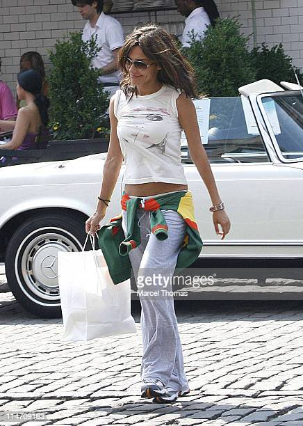 Vanessa Marcil during Vanessa Marcil Sighting June 17 2006 in New York City New York United States