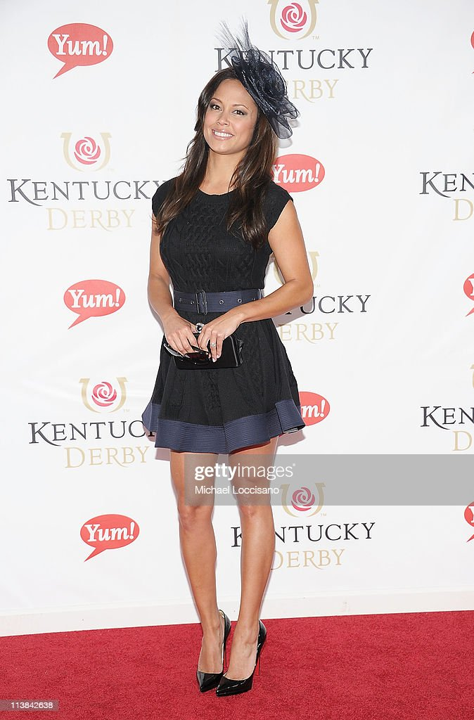 Vanessa Minnillo attends the 137th Kentucky Derby at Churchill Downs on May 7, 2011 in Louisville, Kentucky.