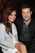 Vanessa Minnillo Lachey and Nick Lachey attend Sprint Sound Sessions at Webster Hall on April 29 2014 in New York City