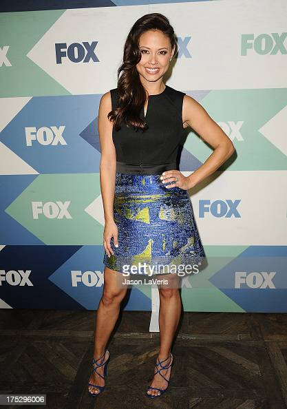 Vanessa Minnillo Lachey attends the FOX AllStar Party on August 1 2013 in West Hollywood California