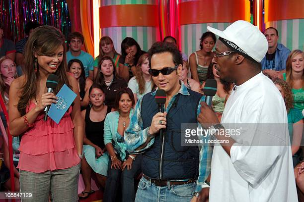 Vanessa Minnillo Rob Schneider and Eddie Griffin