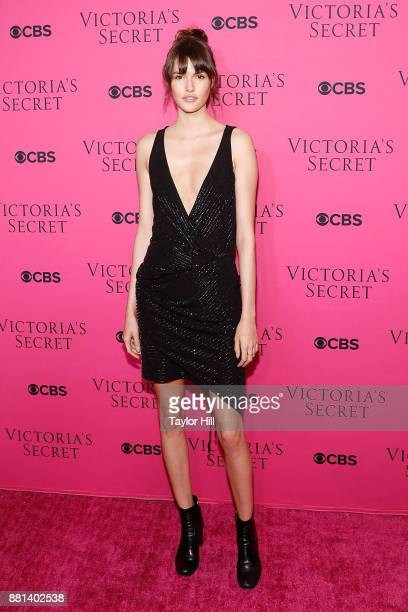Vanessa Moody attends the Victoria's Secret Viewing Party Pink Carpet celebrating the 2017 Victoria's Secret Fashion Show in Shanghai at Spring...