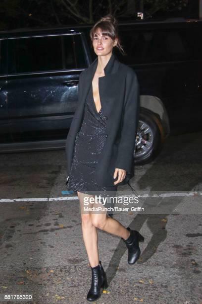 Vanessa Moody is seen on November 28 2017 in New York City