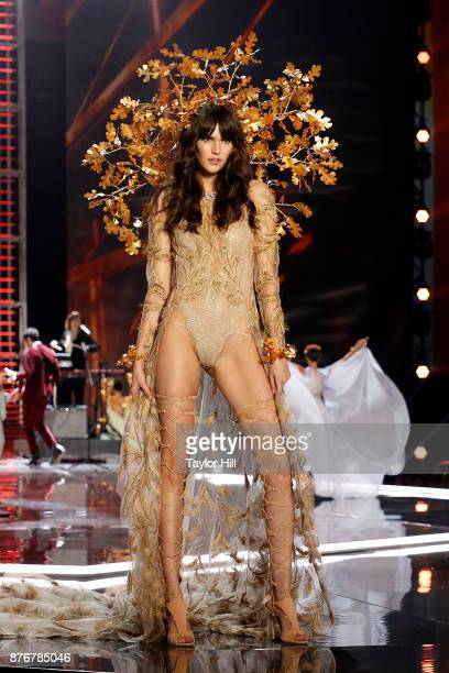Vanessa Moody walks the runway during the 2017 Victoria's Secret Fashion Show at MercedesBenz Arena on November 20 2017 in Shanghai China