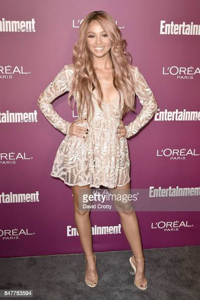 Vanessa Morgan attends the 2017 Entertainment Weekly PreEmmy Party Arrivals at Sunset Tower on September 15 2017 in West Hollywood California