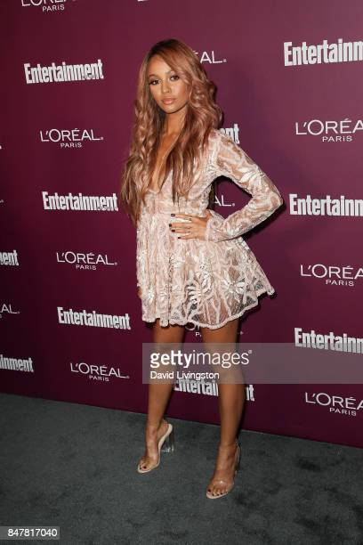 Vanessa Morgan attends the Entertainment Weekly's 2017 PreEmmy Party at the Sunset Tower Hotel on September 15 2017 in West Hollywood California