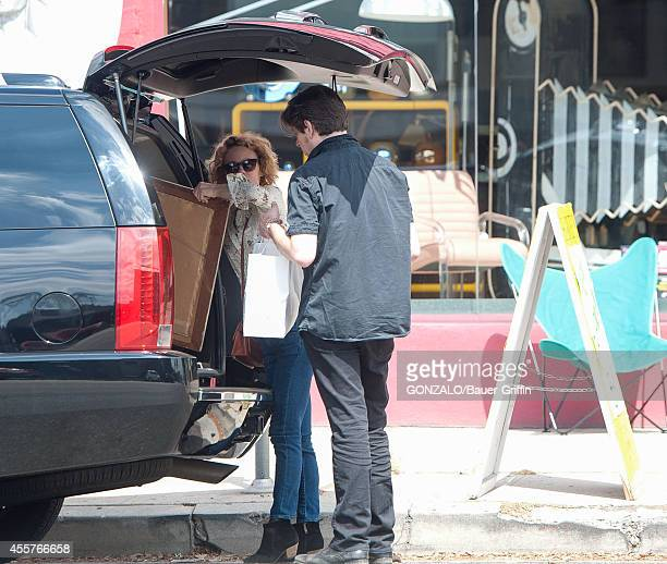 Vanessa Paradis and Benjamin Biolay are seen in Hollywood on September 19 2014 in Los Angeles California