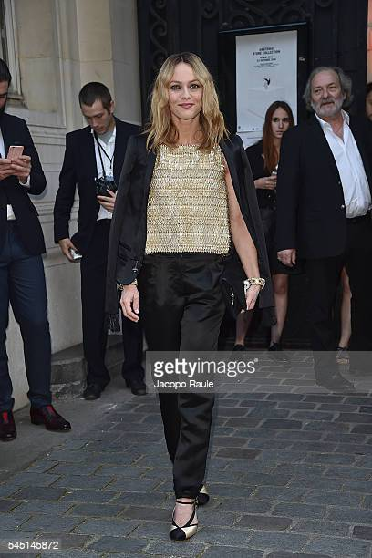 Vanessa Paradis arrives at Vogue Paris Foundation Gala on July 5 2016 in Paris France