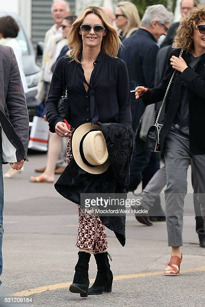 Vanessa Paradis arriving at The Palais de Festival on May 13 2016 in Cannes France