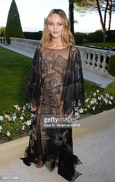 Vanessa Paradis attends amfAR's 23rd Cinema Against AIDS Gala at Hotel du CapEdenRoc on May 19 2016 in Cap d'Antibes France