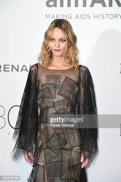 Vanessa Paradis attends the amfAR's 23rd Cinema Against AIDS Gala at Hotel du CapEdenRoc on May 19 2016 in Cap d'Antibes