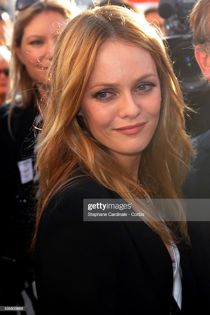Vanessa Paradis attends the Chanel Cruise Collection Presentation in Saint Tropez