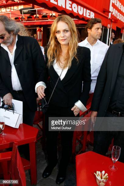 Vanessa Paradis attends the Chanel Cruise Collection Presentation on May 11 2010 in SaintTropez France