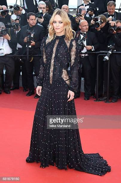 Vanessa Paradis attends the 'From The Land Of The Moon ' premiere during the 69th annual Cannes Film Festival at the Palais des Festivals on May 15...
