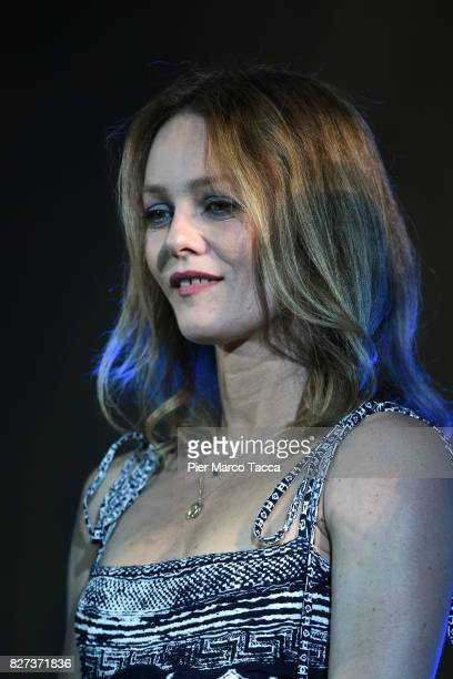 Vanessa Paradis attends the premiere of 'Chien' during the 70th Locarno Film Festival on August 7 2017 in Locarno Switzerland