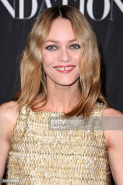 Vanessa Paradis attends the Vogue Foundation Gala 2016 at Palais Galliera on July 5 2016 in Paris France