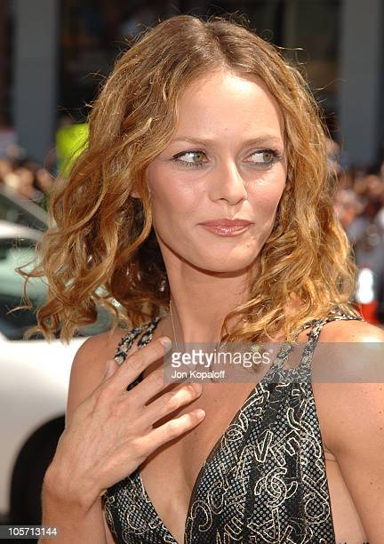 Vanessa Paradis during 'Charlie and the Chocolate Factory' Los Angeles Premiere Arrivals at Grauman's Chinese Theater in Hollywood California United...