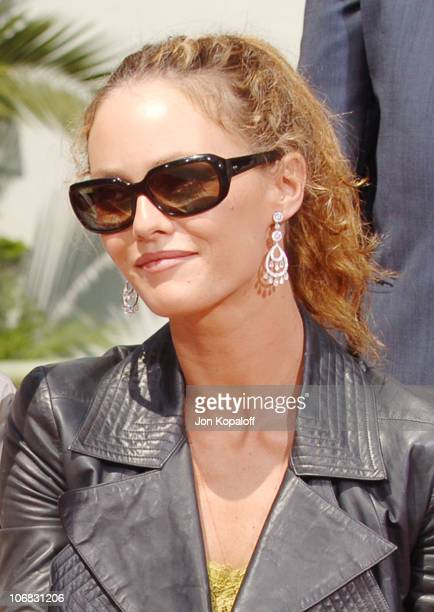 Vanessa Paradis during Johnny Depp Honored with a Hand and Footprint Ceremony at Grauman's Chinese Theatre at Grauman's Chinese Theatre in Hollywood...