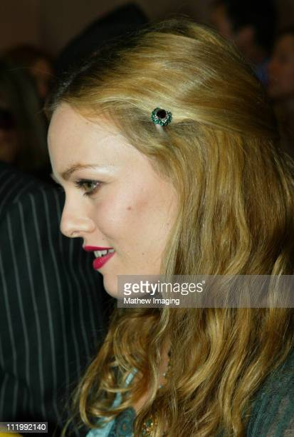 Vanessa Paradis during The 9th Annual Critics' Choice Awards Red Carpet at The Beverly Hills Hotel in Beverly Hills California United States
