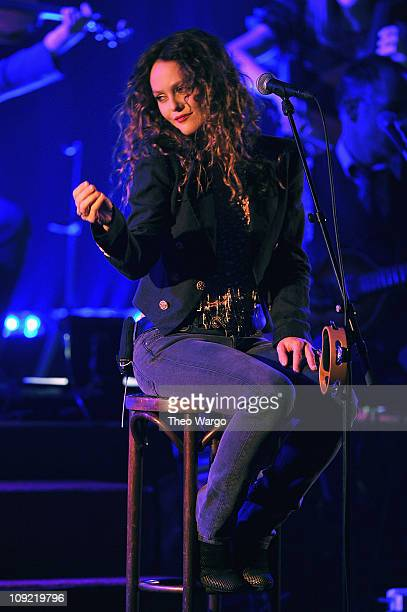 Vanessa Paradis performs at Town Hall on February 16 2011 in New York City