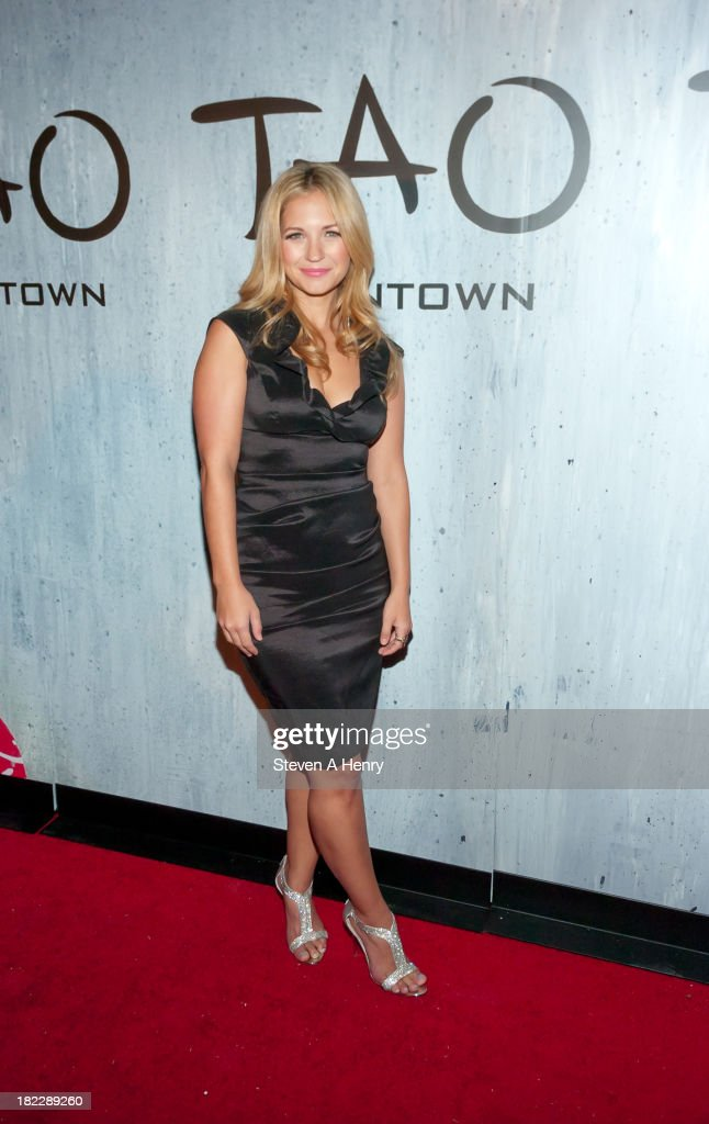 Vanessa Ray attends the grand opening of TAO Downtown on September 28, 2013 in New York City.