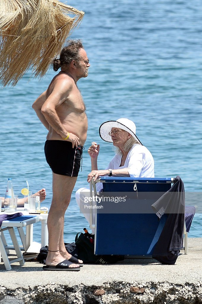 Vanessa Redgrave and Franco Nero are seen at the 2013 Ischia Global Fest on July 14, 2013 in Ischia, Italy.
