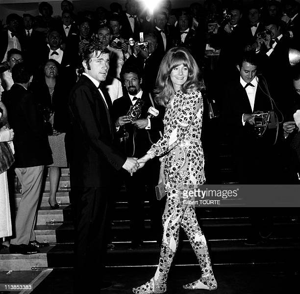 Vanessa Redgrave and Franco Nero at Cannes Film Festival in 1967