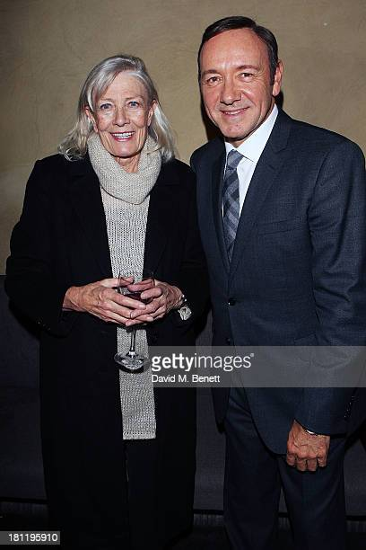 Vanessa Redgrave and Kevin Spacey attends an after party celebrating the press night performance of 'Much Ado About Nothing' at Baltic Restaurant on...