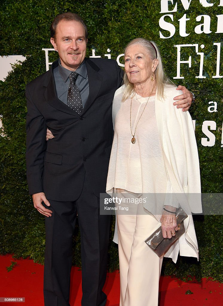 <a gi-track='captionPersonalityLinkClicked' href=/galleries/search?phrase=Vanessa+Redgrave&family=editorial&specificpeople=169891 ng-click='$event.stopPropagation()'>Vanessa Redgrave</a> (R) and son Carlo Nero attend the London Evening Standard British Film Awards at Television Centre on February 7, 2016 in London, England.