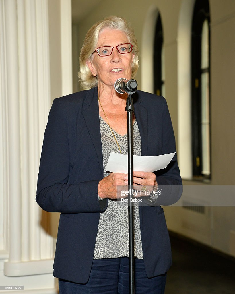 Vanessa Redgrave attends the Public Theater unveiling on October 4, 2012 in New York City.